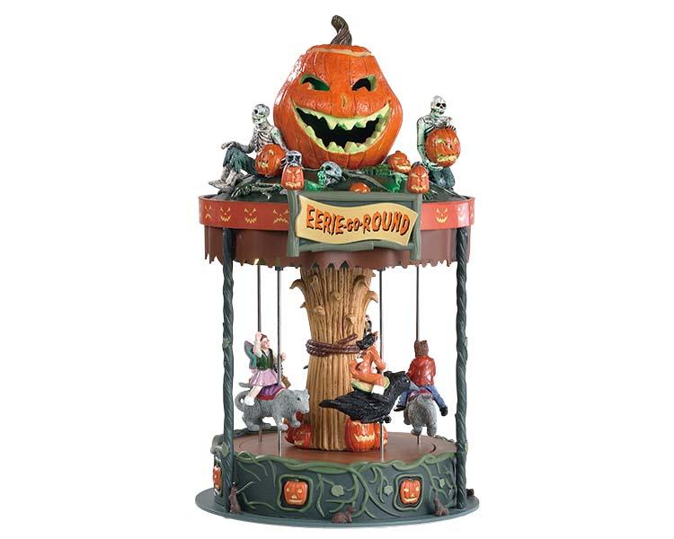 Lemax Eerie-go-round draaimolen uit de Lemax collectie