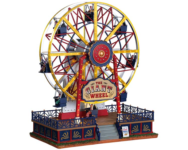 Lemax the Gaint Wheel reuzenrad voor je miniatuur kerstdorp