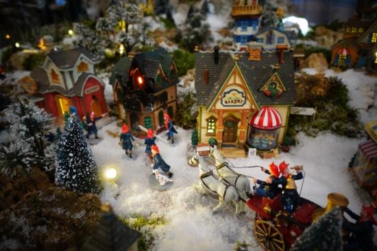 Brand scene maken in je kerstdorp
