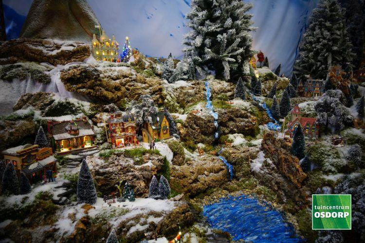 Water en ondergrond voorbeeld voor je kerstdorp