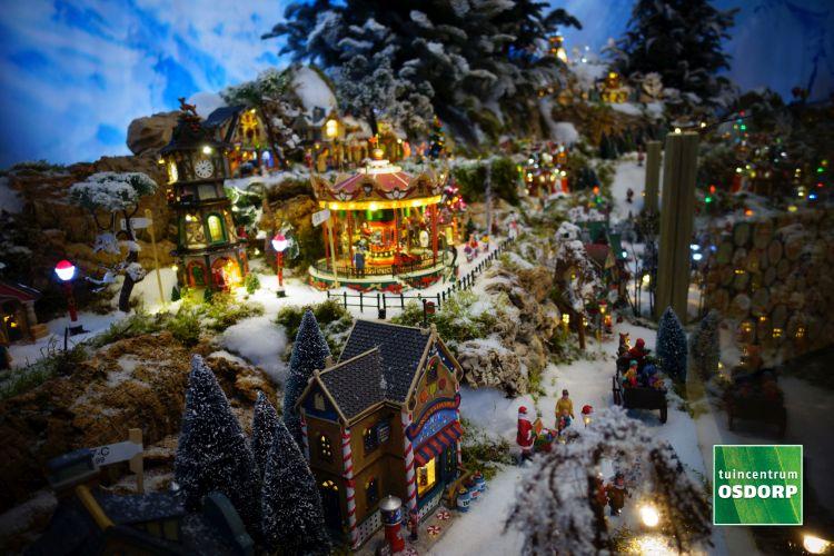 Het grootste Lemax kerstdorp van 2017