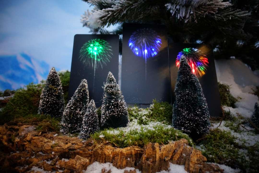 Lemax firework voor in uw kerstdorp\