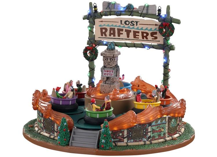 Lemax Lost Rafters wildwaterbaan voor je kerstdorp