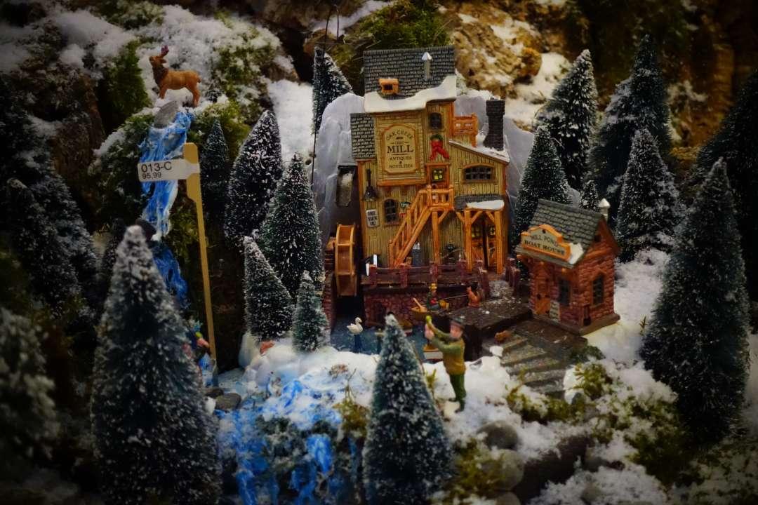 Plymouth Corners Lemax kerstdorp Tuincentrum Osdorp Amsterdam