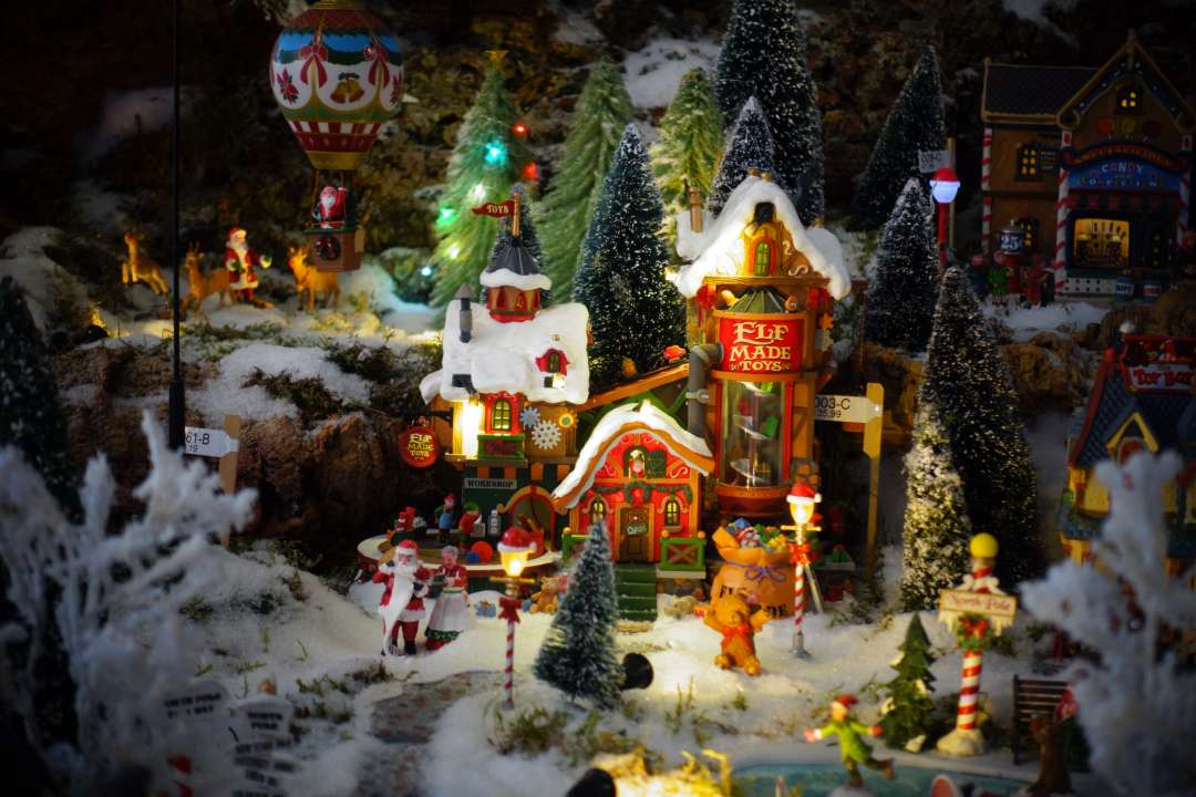 Santa's Wonderland Lemax kerstdorp Tuincentrum Osdorp Amsterdam