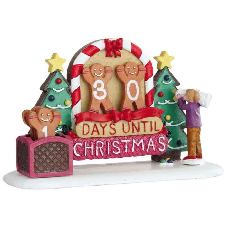 Lemaxgingerbread Countdown kerstdorp figuur nieuw in 2020