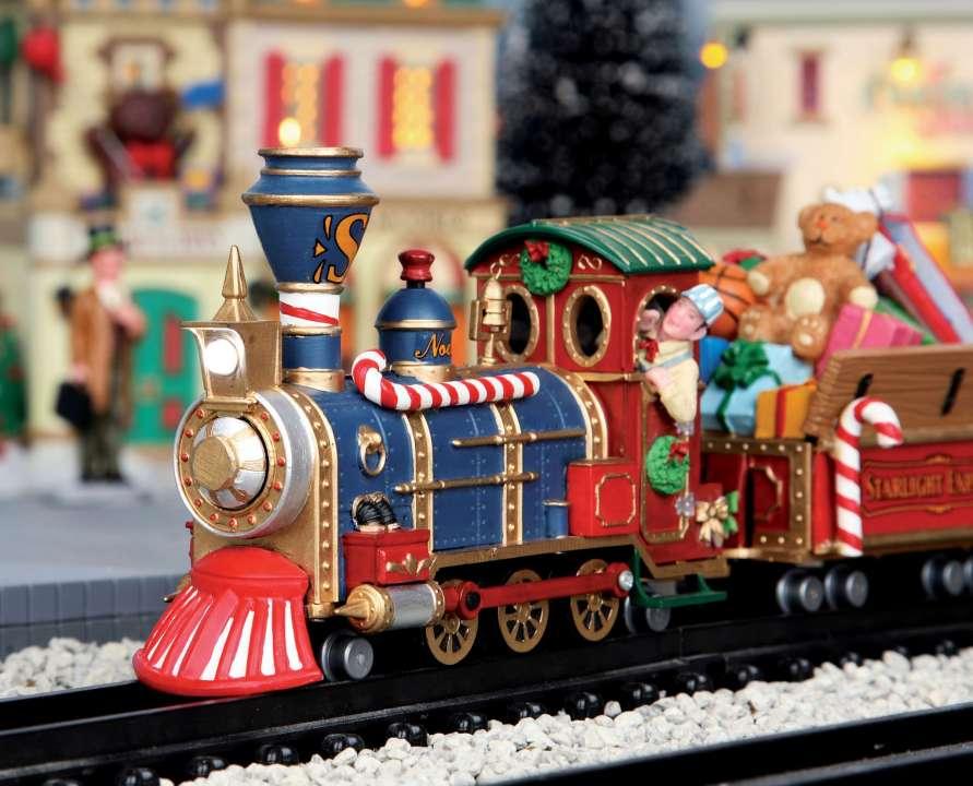Alle Lemax treinen voor uw kerstdorp op een rij!