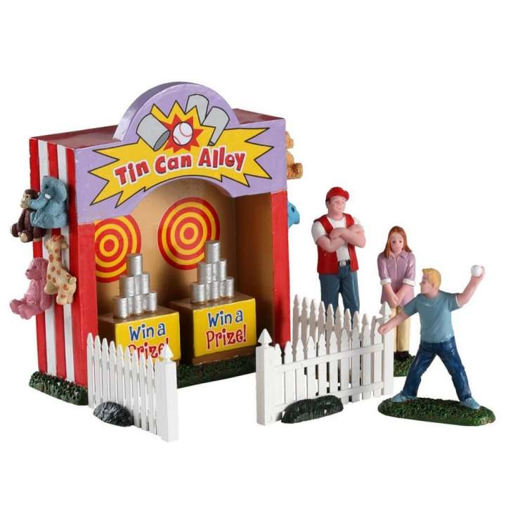 Lemax Tin Can Alley poppetje nieuw in 2020