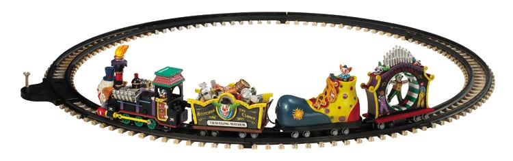 Lemax Crazy Clown Express trein voor uw kerstdorp