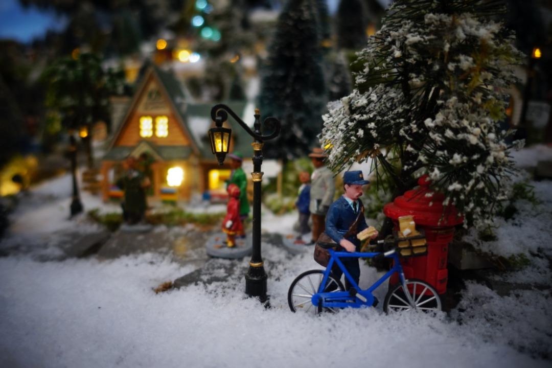 Lemax lantaarns voor mooie verlichting in je kerstdorp