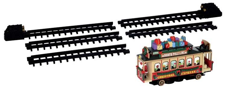 Lemax Santa's Cable Car trein voor kerstdorp