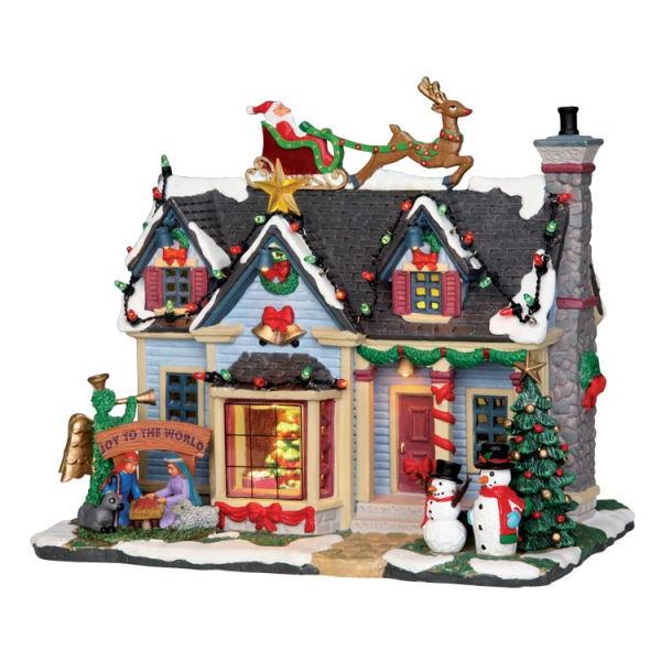 Lemax Harvest Crossing serie Best Decorated House