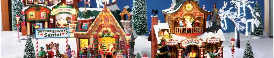Kerstsfeer in huis met Lemax Kersthuisjes