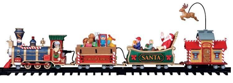 Lemax the starlight express trein voor kerstdorp