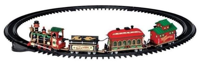 Lemax yuletide express trein voor kerstdorp