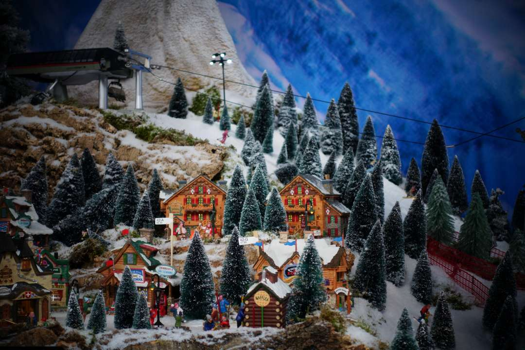 Zo maak je bomen voor je kerstdorp