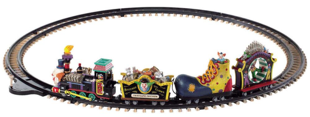 Lemax Crazy Clown Express