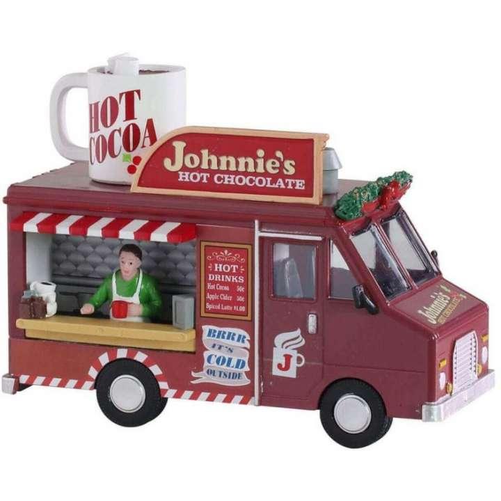 Lemax johnnie's hot chocolate kerstdorp figuur nieuw in 2021