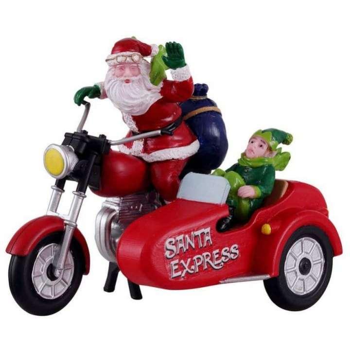 Lemax santa express kerstdorp figuur nieuw in 2021