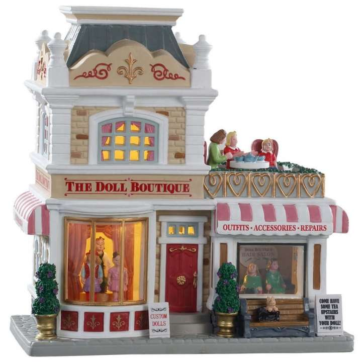 Lemax The Doll Boutique kersthuisje nieuwe in 2020