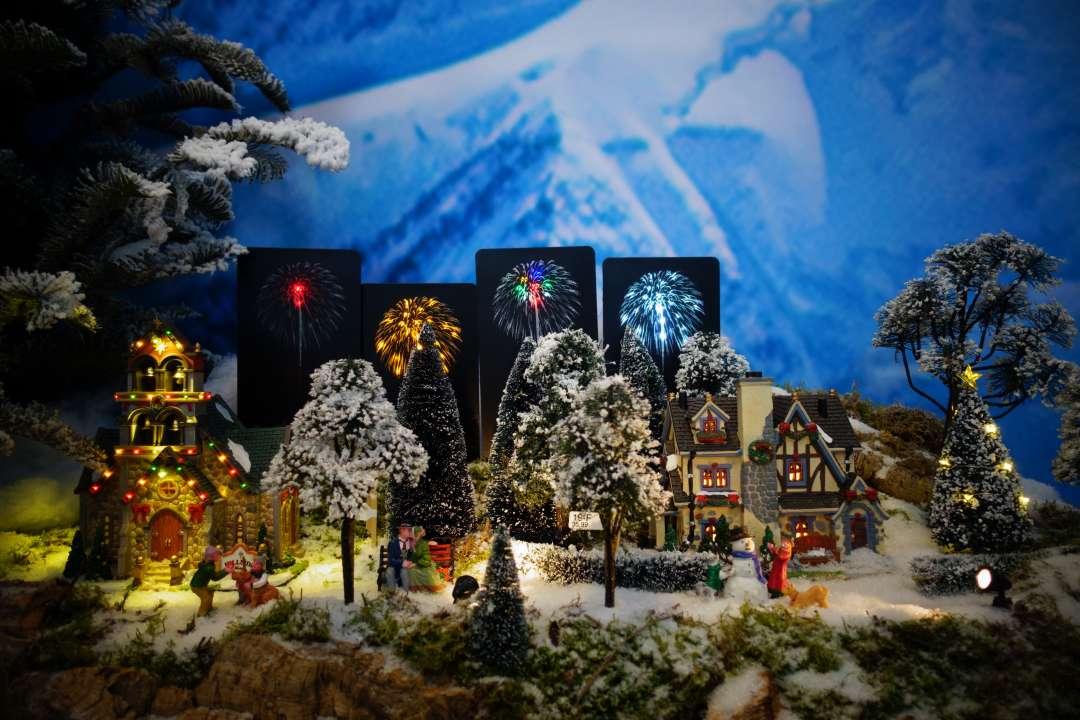 Sfeervolle Lemax verlichting voor uw kerstdorp