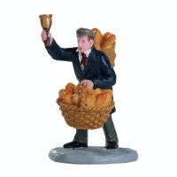Lemax bread peddler kerstdorp figuur type 2 Caddington Village 2018