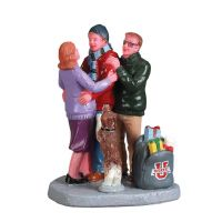 Lemax home for the holidays kerstdorp figuur type 4 2017