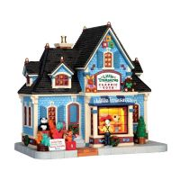 Lemax Little treasures classic toys verlicht kersthuisje Caddington Village 2014