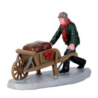 Lemax ready for winter kerstdorp figuur type 3 Vail Village 2016 - afbeelding 1